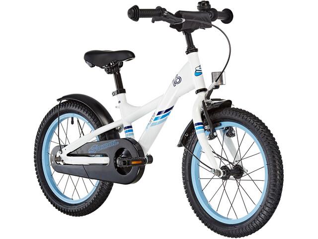 s'cool XXlite 16 Børnecykel steel hvid (2019) | City-cykler